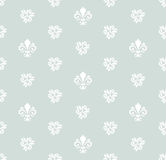 Seamless Pattern With Royal Lily Stock Photo