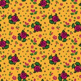 Seamless pattern russian style Stock Images