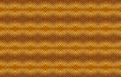 Seamless pattern of scale golden dragon background Royalty Free Stock Images