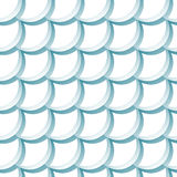 Seamless pattern with scales Royalty Free Stock Image