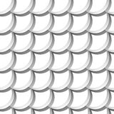 Seamless pattern with scales Royalty Free Stock Images