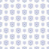 Seamless pattern science and technology vector background Stock Images