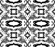 Seamless  pattern with scorpions Royalty Free Stock Image