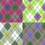 Seamless pattern Scottish Stock Photos