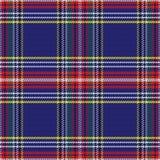 Seamless pattern Scottish tartan Royalty Free Stock Photography