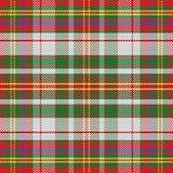 Seamless pattern Scottish tartan Stock Photography