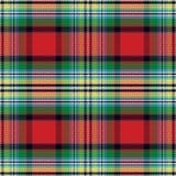 Seamless pattern Scottish tartan Stock Photo