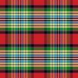 Seamless pattern Scottish tartan Royalty Free Stock Images