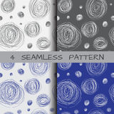 Seamless pattern of scrawl Royalty Free Stock Images