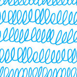 Seamless pattern with scribble texture Stock Photos