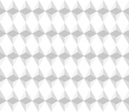 Seamless pattern. Seamless illustrated pattern made of gray triangles and rhombuses on white Stock Photography