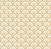 Seamless pattern. Seamless pattern with stylized ornament in oriental style stock illustration