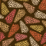 Seamless pattern of seashells Royalty Free Stock Image