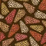 Seamless pattern of seashells Royalty Free Stock Image