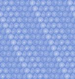 Seamless pattern with seashells Stock Photography