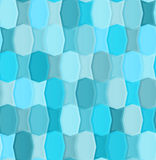 Seamless pattern seems of the two types of tiles Stock Photography