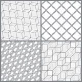 Seamless pattern_set31 Stock Photography
