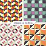 Seamless pattern set 15 Royalty Free Stock Photos