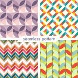 Seamless pattern set 13 Stock Images