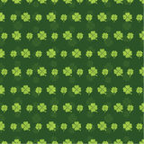 Seamless pattern Shamrock Background for St.Patrick's Day Royalty Free Stock Photos