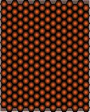 Seamless pattern shapes of Honeycomb stock image