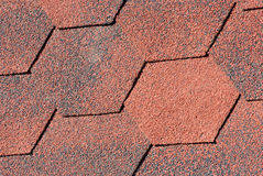 Seamless pattern of shingles roof Royalty Free Stock Images
