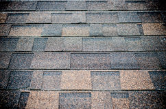 Seamless pattern of shingles roof Stock Images