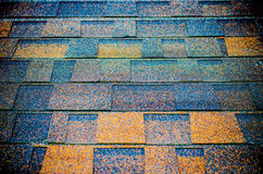 Seamless pattern of shingles roof Stock Photography
