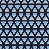 Seamless pattern of shiny metallic triangles Stock Photos