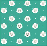 Seamless pattern ship background Royalty Free Stock Images