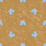 Seamless pattern shorts background. Vintage vector illustration Stock Photos