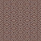 Seamless pattern with simple geometric forms. Repeated circles wallpaper. Abstract background with round vortexes. Seamless pattern with simple geometric forms Stock Image