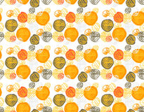 Seamless pattern of simple geometry. Retro-style illustration. EPS 10 vector Stock Image