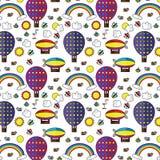 Seamless pattern sky Royalty Free Stock Photography