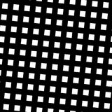 Seamless pattern slanting grid in black and white.   Stock Photos