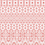 Seamless pattern with Slavic style elements Stock Photography
