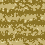 Seamless pattern of slime drops. Vector abstract illustration Royalty Free Stock Images