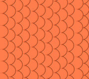Seamless pattern of small colorful goldfish Stock Photography