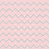 Seamless pattern small dots. Vector seamless pattern small dots, gray zigzag on a pink background Stock Photography