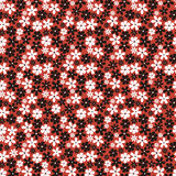 Seamless pattern with small flowers Royalty Free Stock Photo