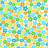 Seamless pattern with small flowers. For textiles, interior design, for book design, website background Royalty Free Stock Image