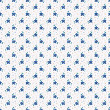 Seamless pattern with small hand drawn flowers. Royalty Free Stock Photos