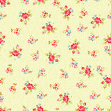 Seamless Pattern with small red roses. Vector seamless Pattern with small red roses Royalty Free Stock Photos