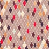 Seamless pattern of small rhombuses Stock Photo