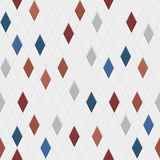 Seamless pattern of small rhombuses Royalty Free Stock Photography