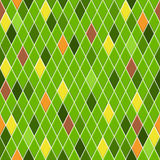 Seamless pattern of small rhombuses Stock Photos