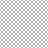 Seamless pattern, smooth geometric figures, circles, lines. Stock Photos