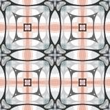 Seamless pattern, smooth lines. Geometric modern texture. Stock Photos