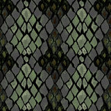 Seamless pattern of snake skin Stock Photo