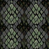 Seamless pattern of snake skin royalty free illustration